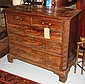 CHEST, George III mahogany with two short over