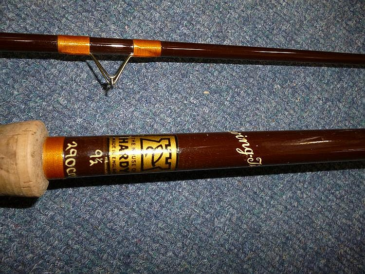 A HARDY 'SWING - TIP' 9 1/2 TWO PIECE FISHING ROD,