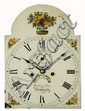 A 19TH CENTURY EIGHT DAY LONG CASE CLOCK, having a