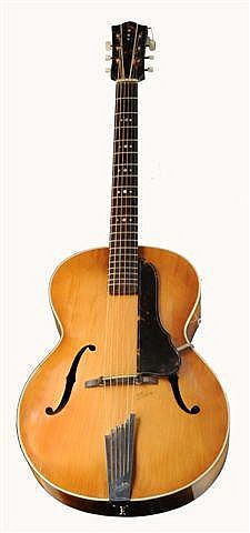 A HOFNER SIX STRING GUITAR circa 1954, Senator