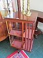 Edwardian Mahogany Revolving Bookcase 35 Inches