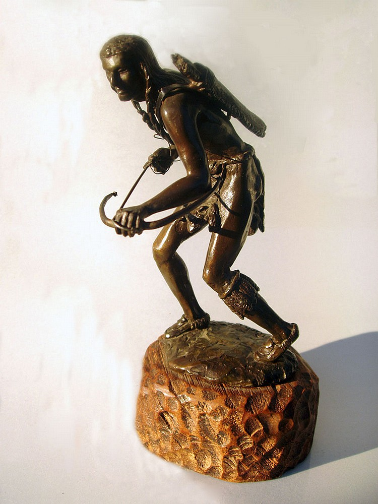 RICHARD MYER BRONZE SCULPTURE