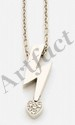 PIAGET. Pendentif clair