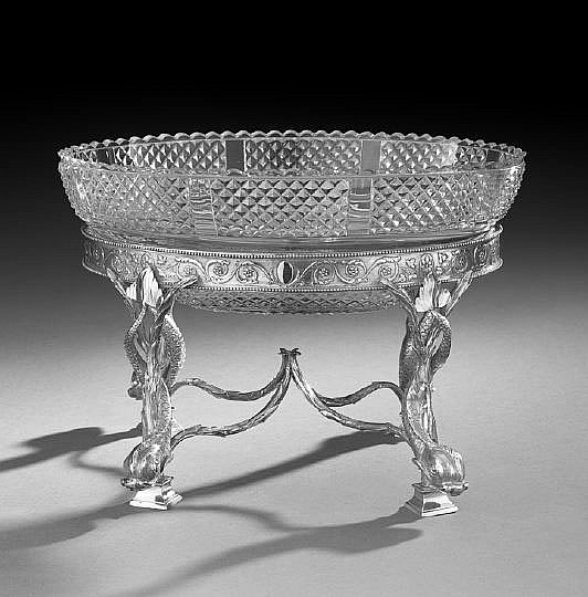 Good George III Sterling Silver Centerpiece