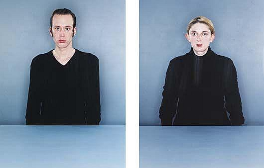 Two works from Untitled Two: (i) #6, 1998; (ii) #7, 1998