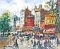AMEGLIO Merio (1897-1970) PARIS, LE MOULIN ROUGE, Mério Améglio, Click for value