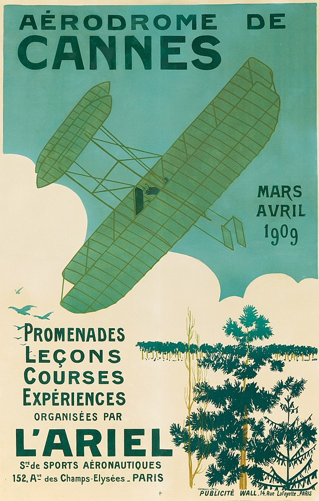 Arodrome de Cannes. 1909