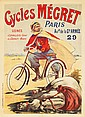 Cycles Mégret. ca. 1895