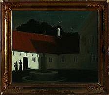 Harald Slott-Mller: Scenery from a Manorhouse.