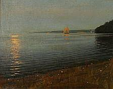 Harald Slott-Mller: Midsummer Eve, Kge Bay,