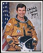 1981 STS-1 JOHN YOUNG AND BOB CRIPPEN SIGNED NASA COLOR LITHOS
