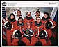 2000 STS-101 CREW SIGNED NASA COLOR LITHO