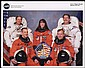 2001 STS-104 CREW SIGNED NASA COLOR LITHO