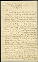 1832 SAMUEL GOUVERNEUR SIGNED LETTER TO WASHINGTON GLOBE ABOUT JAMES MONROE