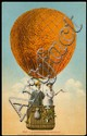 WORLDWIDE 1900s-30s BALLOON PICTURE POSTCARD COLLECTION