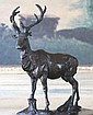 Regal Elk Bronze Sculpture