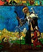 Zeev Raban, Israeli 1890-1970- Shepherd by the, Zeev Raban, Click for value