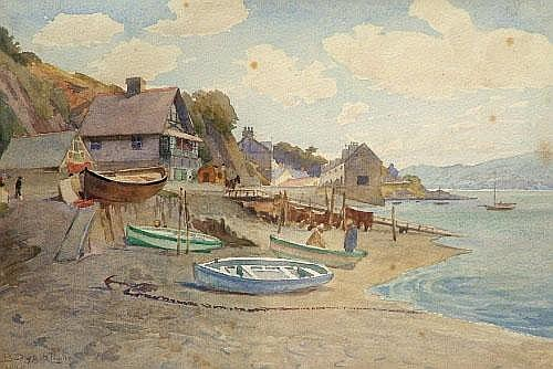 Buddig Anwylini Pughe, Welsh b.1857 exh 1882-1938-