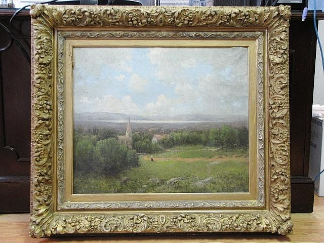 JOHN BUNYAN BRISTOL LANDSCAPE PAINTING