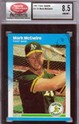 1987 Fleer Update Mark McGwire Graded SCD NM/MT+