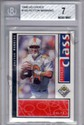 1998 UD Choice Peyton Manning RC Graded BGS 7 NM