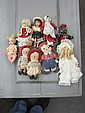 Lot of Dolls Including Raggedy Anns