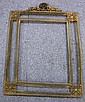 French Brass Filigree Frame