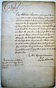 GEORGE III; KING OF ENGLAND. Document Signed,
