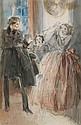 EVERETT SHINN The Mystery of Edwin Drood, Chapter Three.