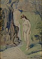 LOUIS EILSHEMIUS Venus of the Forest.