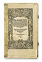 BIBLE IN ENGLISH.  Erasmus, Desiderius. The seconde tome . . . of the paraphrase . . . upon the newe testament. 1552. Lacks index