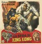 DESIGNER UNKNOWN. LA SFIDA DI KING KONG. Circa 1945. 57x54 inches, 146x137 cm.