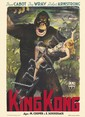 GIORGIO OLIVETTI (1908-?). KING KONG. 1949. 55x39 inches, 139x99 cm. A.P.E. Viale Castrenese, Rome.