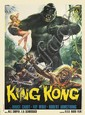 RENATO CASARO (1935- ). KING KONG. 1966. 55x39 inches, 139x100 cm. Rotolitografica, Rome.