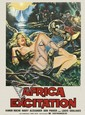 DESIGNER UNKNOWN. AFRICA EXCITATION. 1970. 55x39 inches, 139x100 cm. Loghi Sportivi.