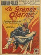 DESIGNER UNKNOWN. LA GRANDE ALARME. Circa 1926. 33x24 inches, 83x61 cm. Lon Clement & Cie, Brussels.