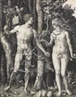 ALBRECHT DRER Adam and Eve.