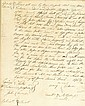 (SLAVERY AND ABOLITION--COLONIAL DELAWARE.) Manuscript Slave Sale document, wherein