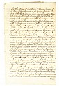 (SLAVERY AND ABOLITION--NEW YORK STATE.) Manuscript Last Will and Testament of Thomas Jansen of Shawangunk, New York.