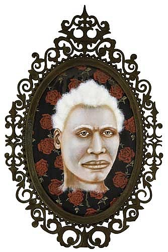 LEZLEY SAAR (1953 -  ) Albino from Kimon, Cte d'Ivoire.