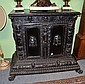 A 17th Century Style Italian Ebonised Cupboard,