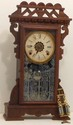 Ansonia Gingerbread Kitchen Alarm Clock
