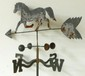 Horse Weathervane on a Long Shaft