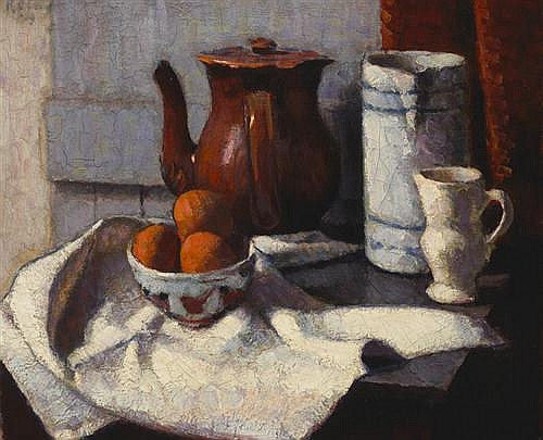 Roderic O'Conor (1860-1940) NATURE MORTE, c.1909