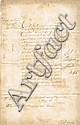 1691 (8 March) Williamite Wars bounty document to officer for 'good service in Ireland