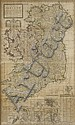 1714: Herman Moll map of Ireland