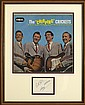 Buddy Holly and The Crickets: Set of autographs