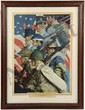 NORMAN ROCKWELL TO MAKE MEN FREE PRINT