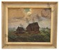 EDWARD F. BOYD FRAMED ORIGINAL LANDSCAPE PAINTING