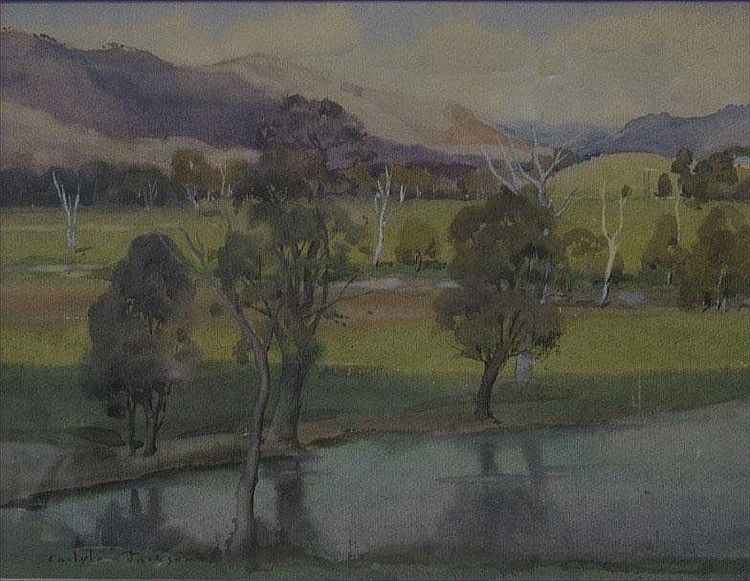 Carlyle. Jackson, 1891-1940 Watercolour, signed